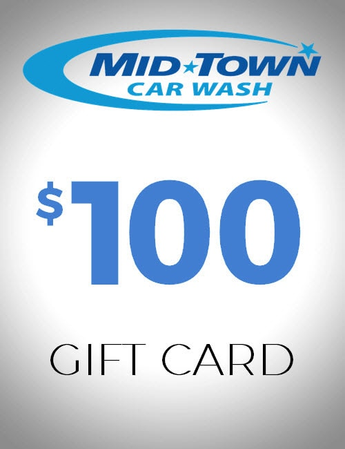 $100 Gift Card - MidTown Car Wash
