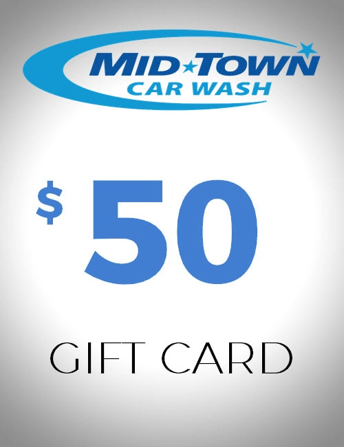 $50 Gift Card - MidTown Car Wash